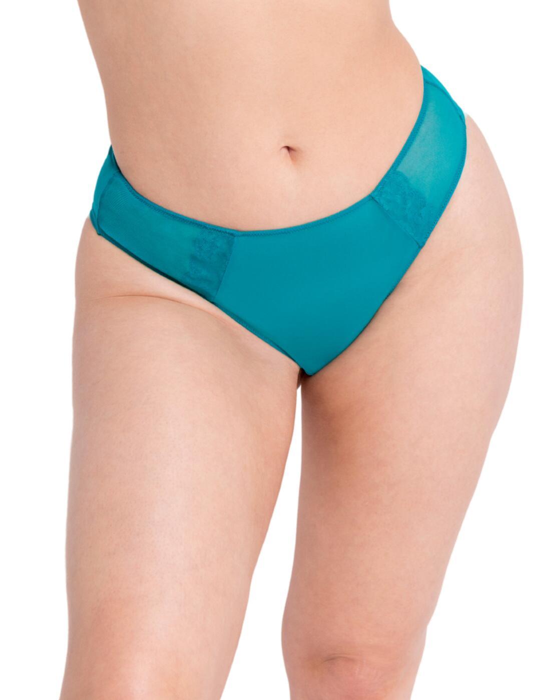 CK026202 Curvy Kate Eye Spy Brazilian Brief - CK026202 Turquoise