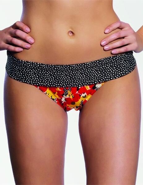 3153 Freya Flamingo Fold Bikini Brief - 3153 Fold Brief