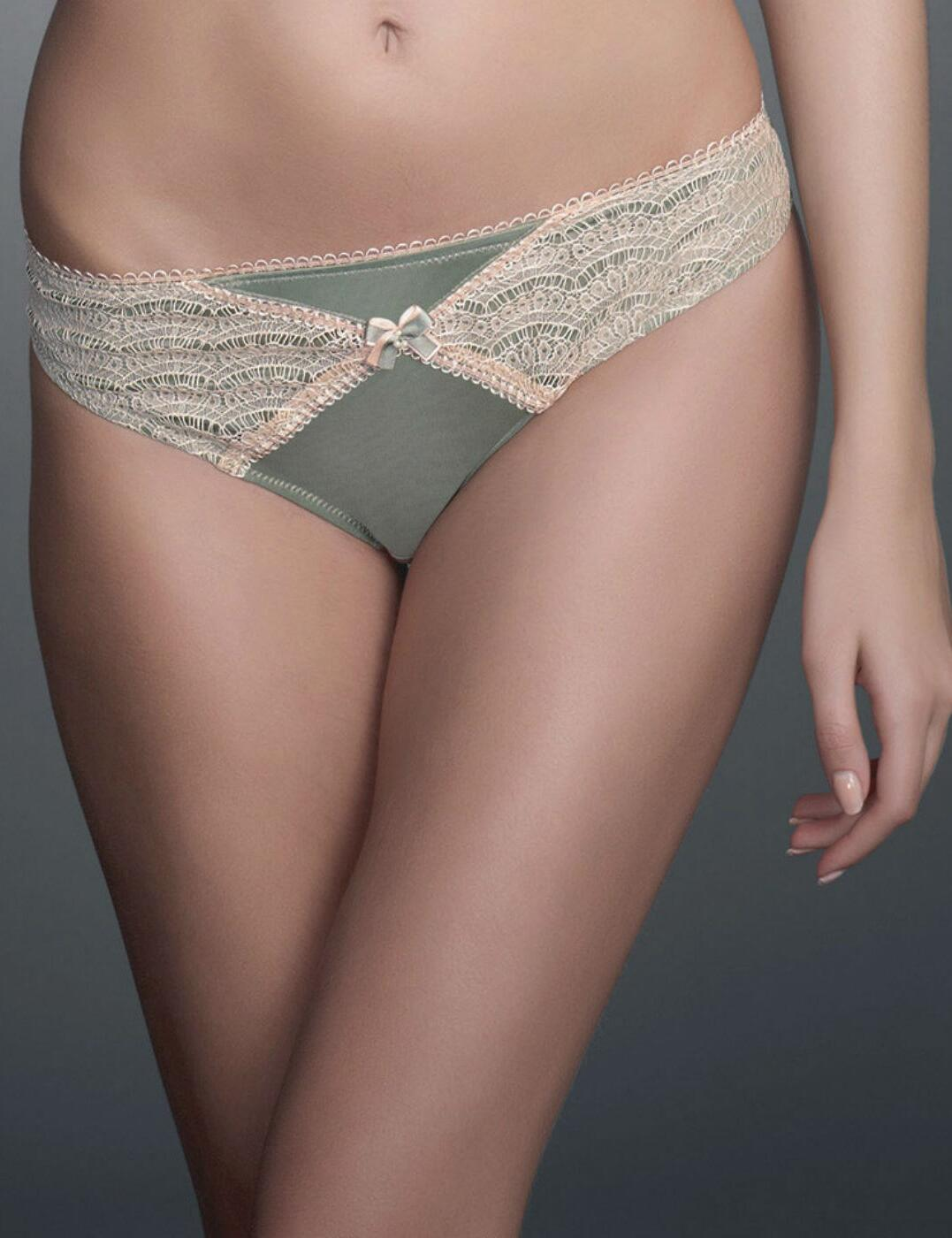 0255 Fauve Coco Brief - 0255 Willow Green