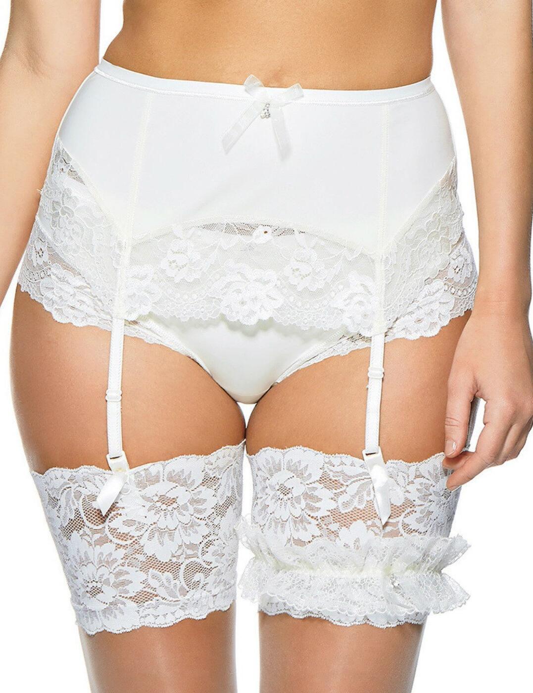 1183220 Charnos Embrace Suspender Belt - 1183220 Ivory