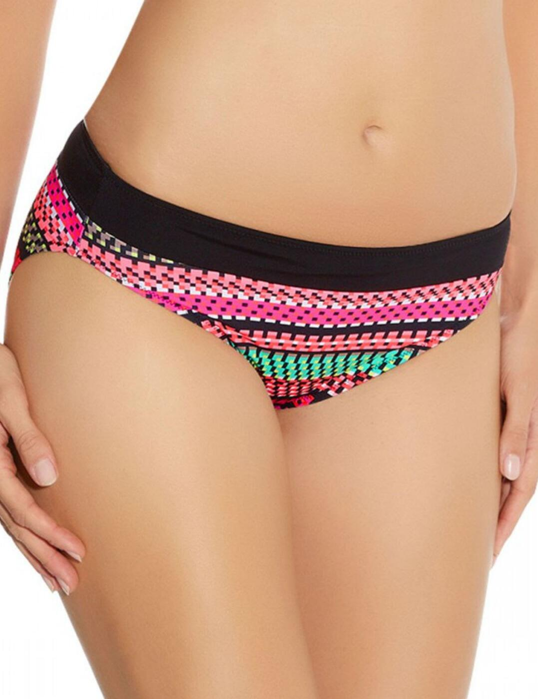 6085 Fantasie Paphos Mid Rise Bikini Brief Paradise - 6085 Mid Rise Brief