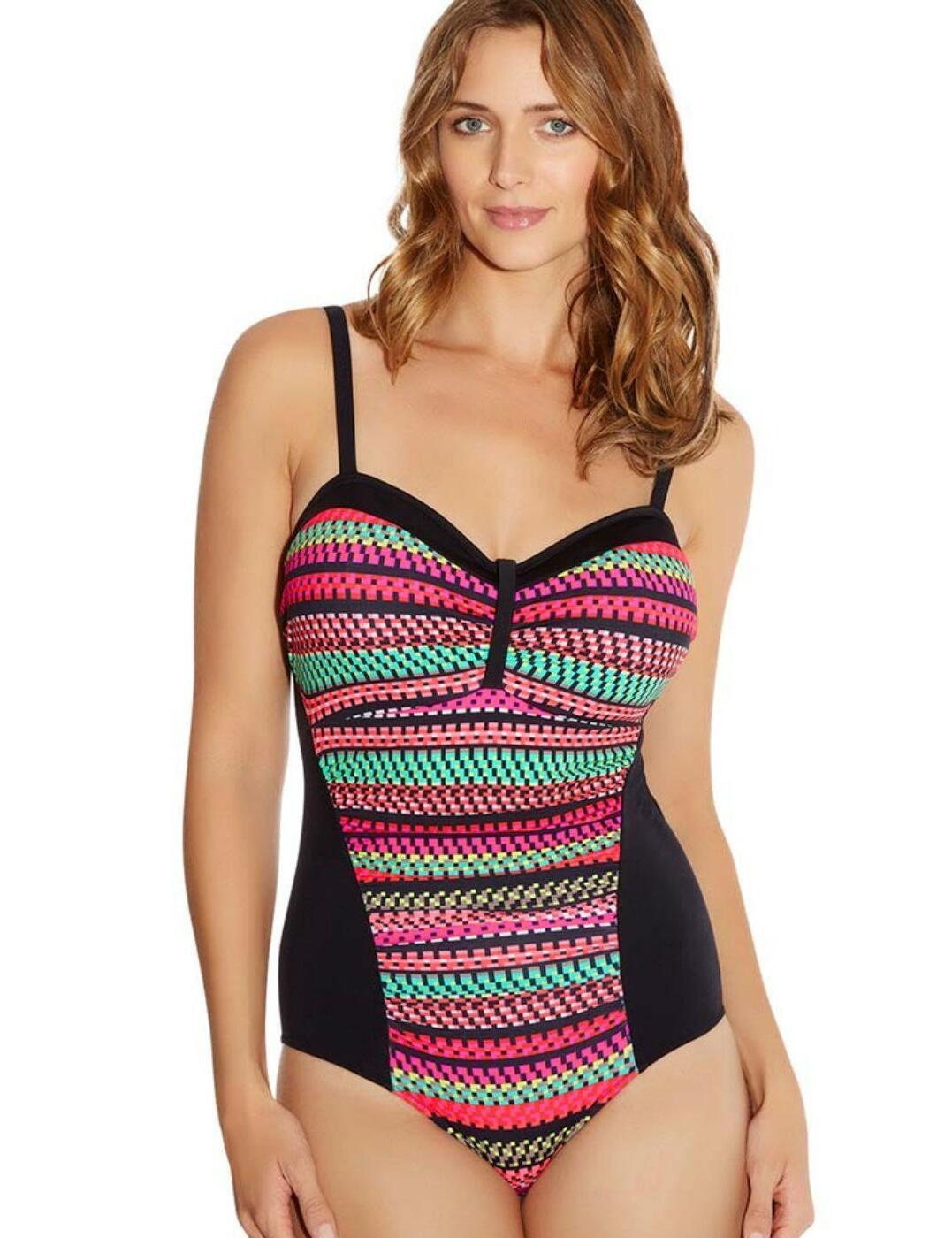 6087 Fantasie Paphos Gathered Swimsuit Paradise - 6087 Swimsuit