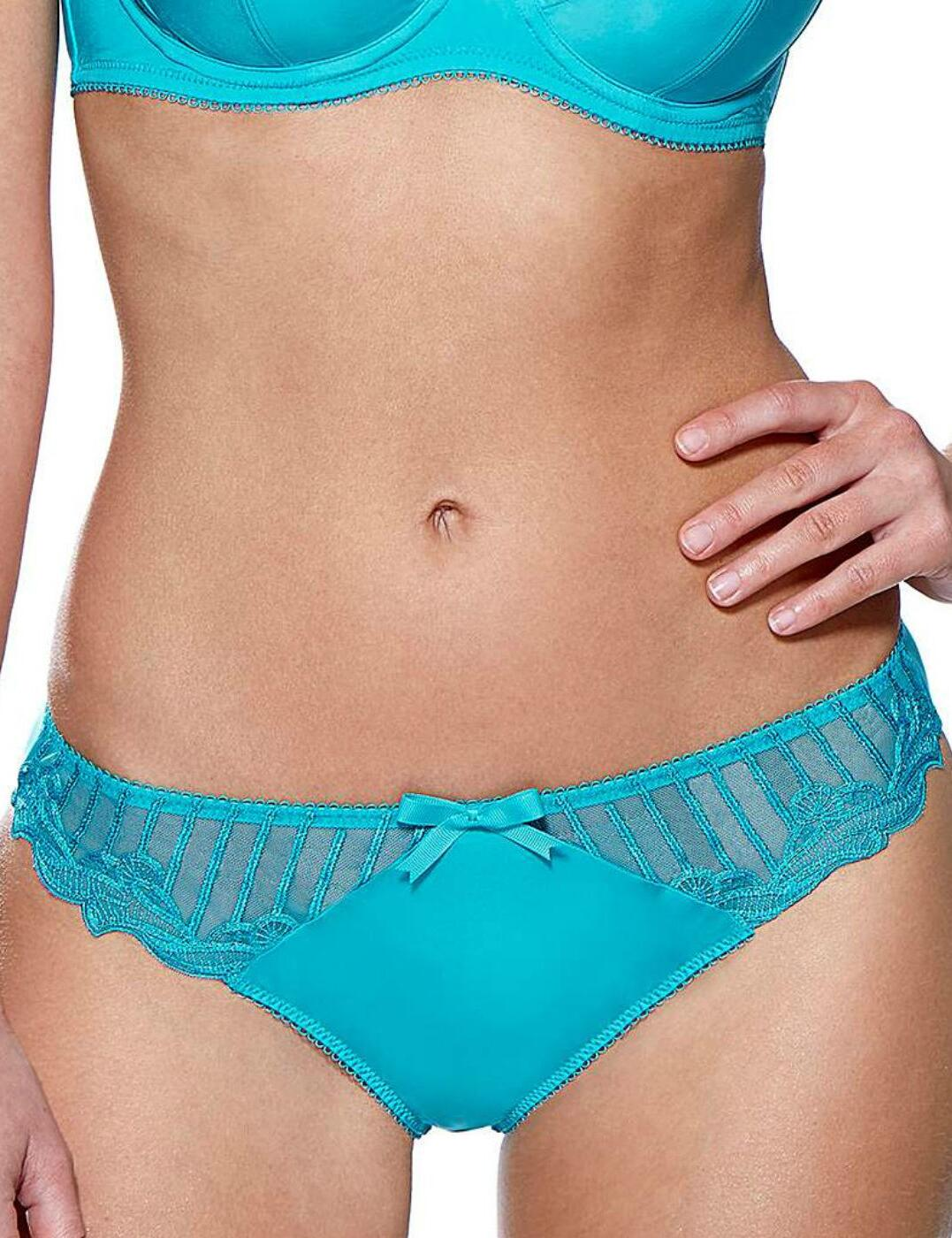1295100 Charnos Sienna Brief - 1295100 Turquoise Brief