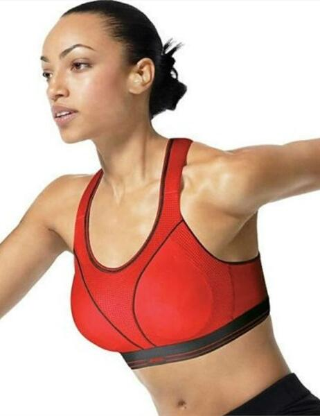 S5044 Shock Absorber Run Sports Bra - 5044 Coral