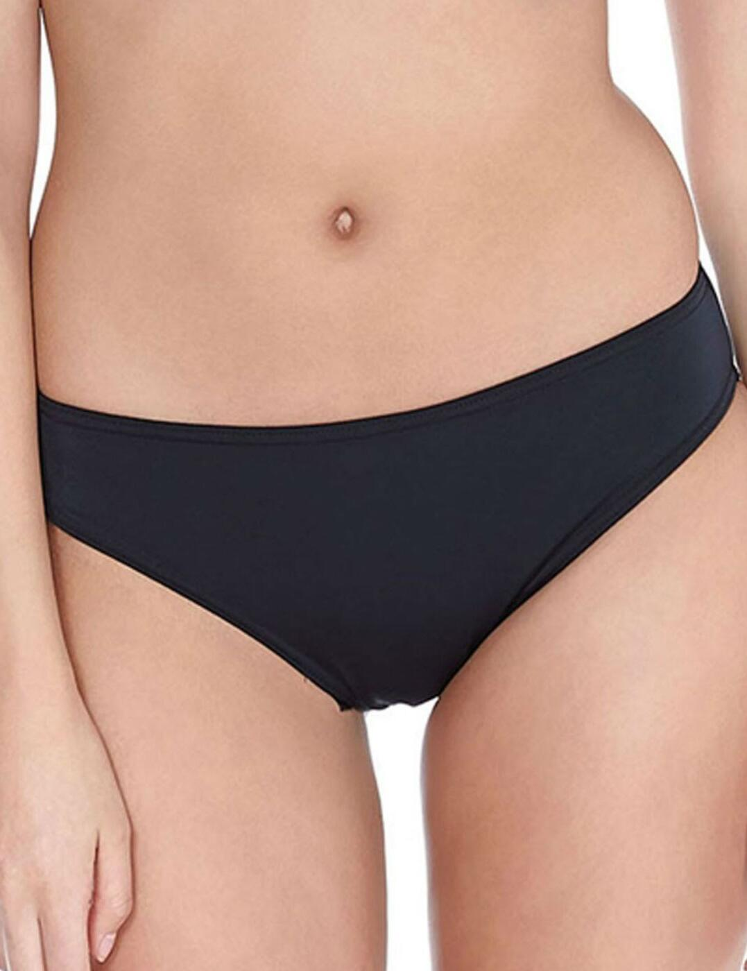 3871 Freya Deco Swim Hipster Bikini Brief - 3871 Black