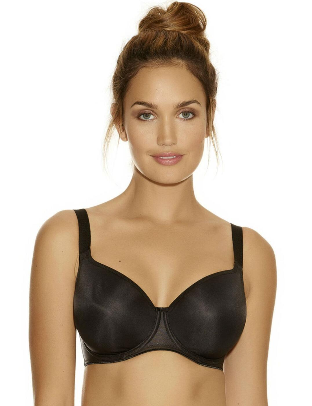 8d1dc20567 4520 Fantasie Smoothing Balcony Bra - 4520 Black