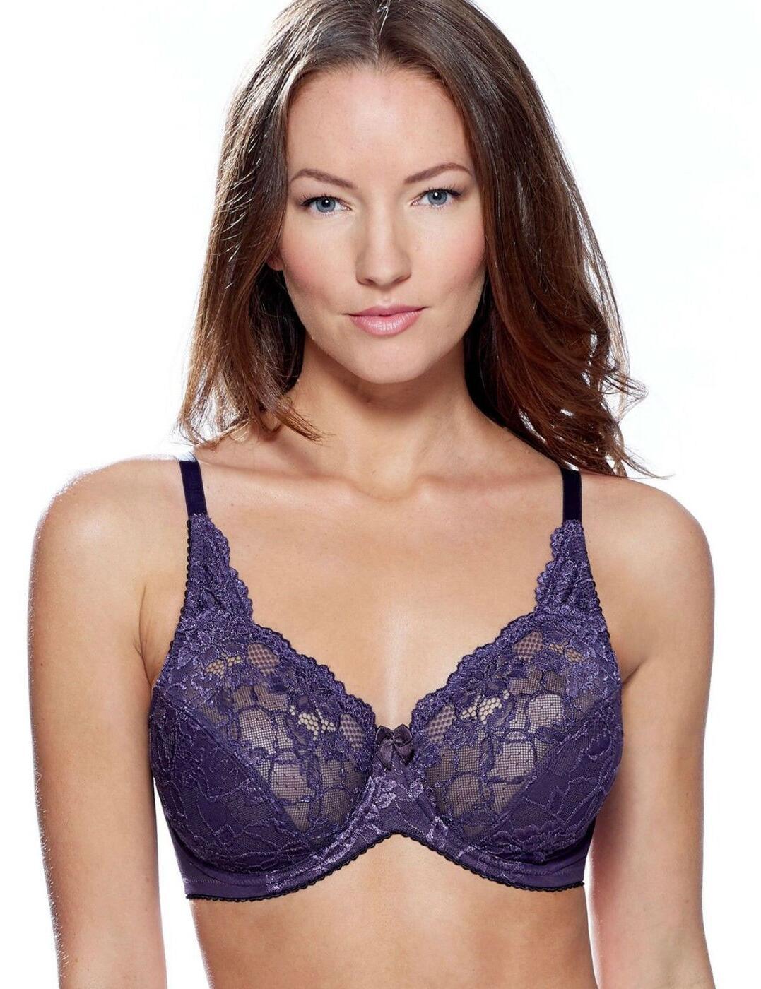 5204c870b2 Charnos Rosalind Full Cup Bra Purple - Belle Lingerie