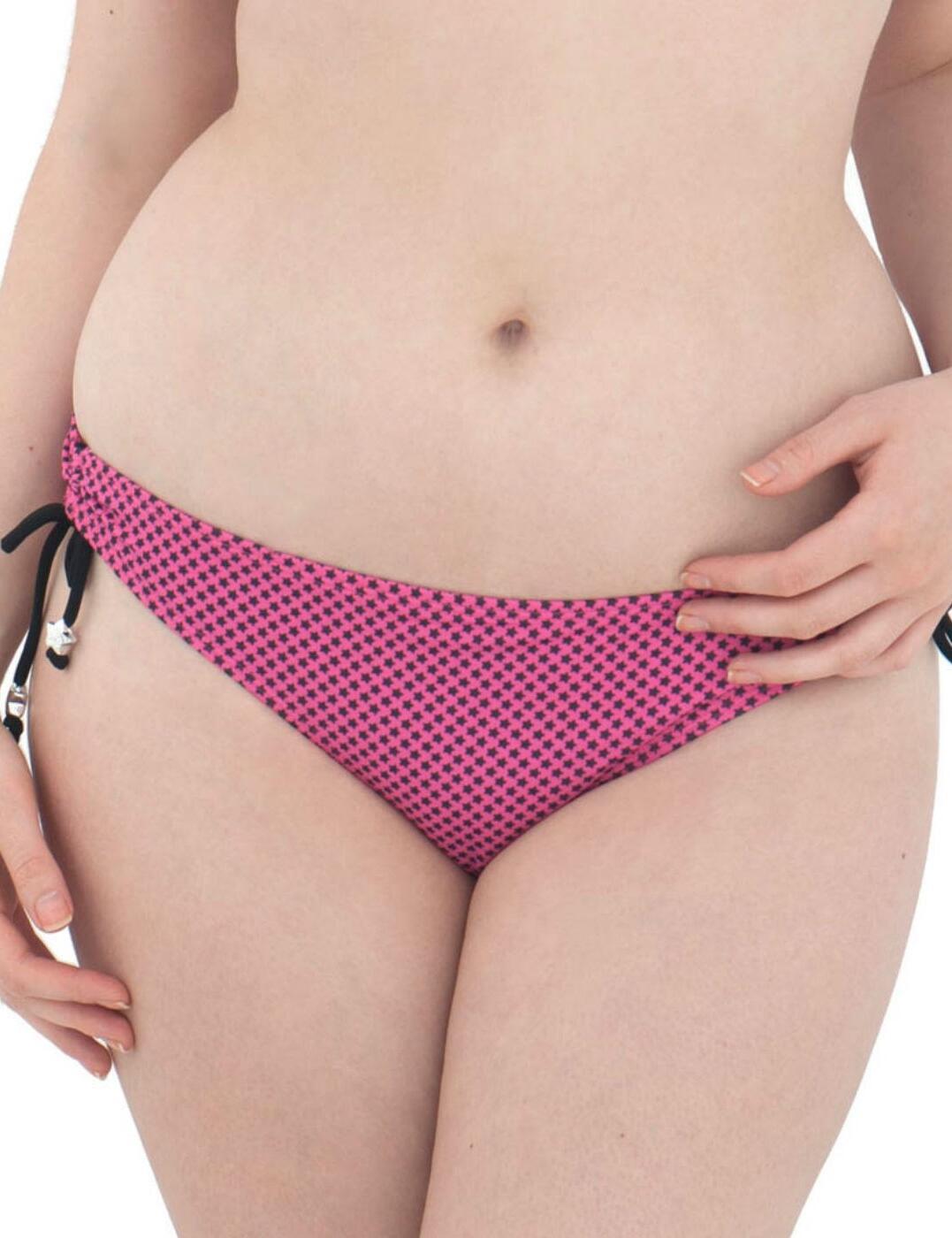CS2245 Curvy Kate Starry Eyed Bikini Brief - CS2245 Flamingo Pink
