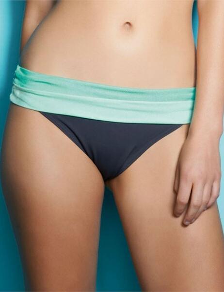 3178 Freya Samba Fold Bikini Brief  - 3178 Graphite