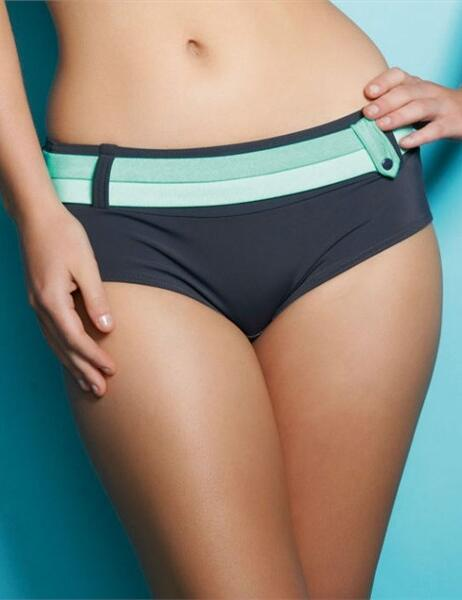 3175 Freya Samba Bikini Short - 3175 Graphite
