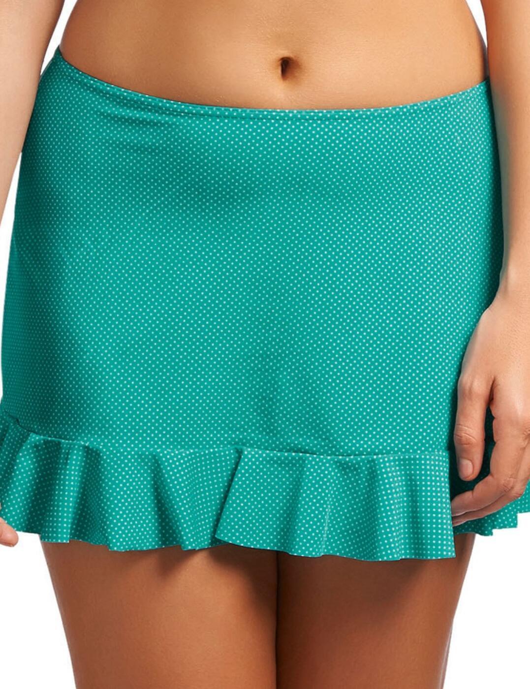 3367 Freya Cherish Bikini Skirt Jade Green - 3367 Bikini Skirt