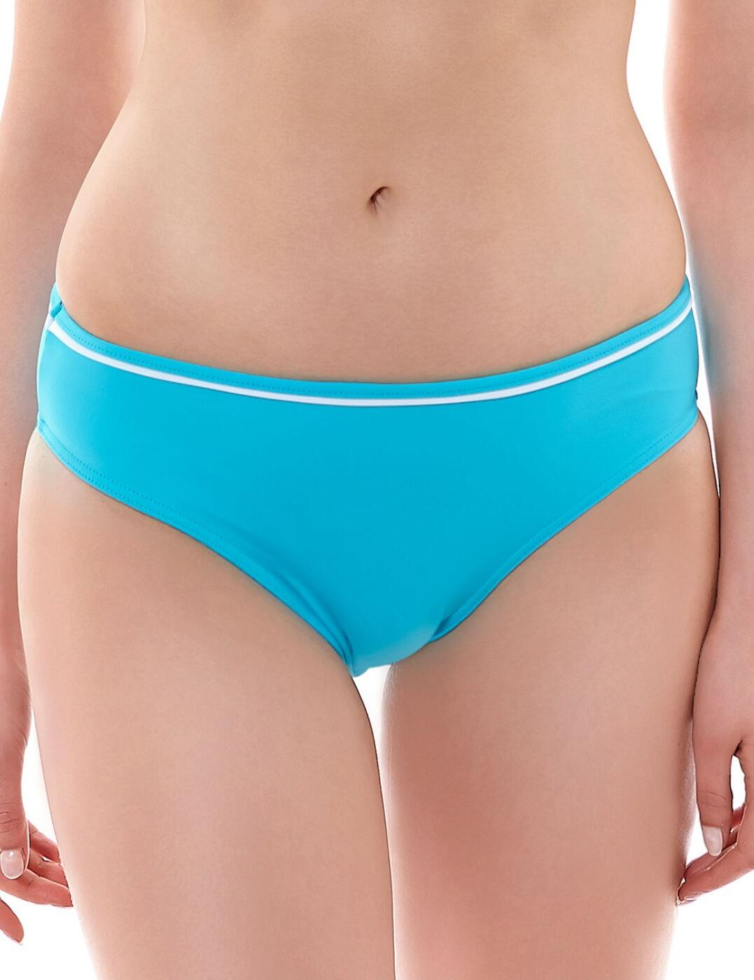 3871 Freya Deco Swim Hipster Bikini Brief Aqua - 3871 Hipster Brief