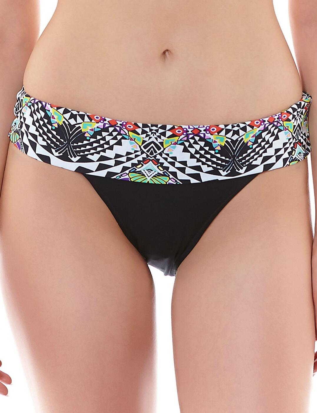 3982 Freya Zodiac Classic Fold Bikini Brief Multi - 3982 Multi