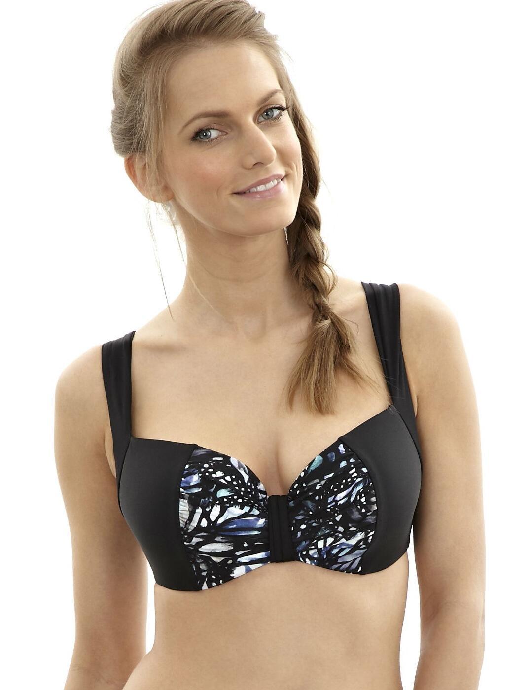 SW0932 Panache Annalise Balcony Bikini Top Butterfly - SW0932 Butterfly