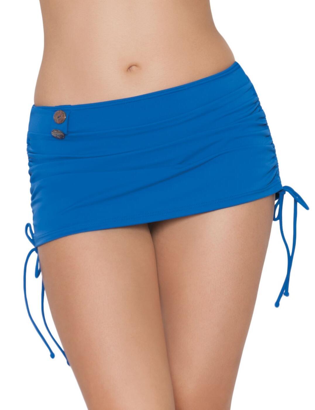 CS1955 Curvy Kate Luau Love Swim Skirt - CS1955 Deep Sea