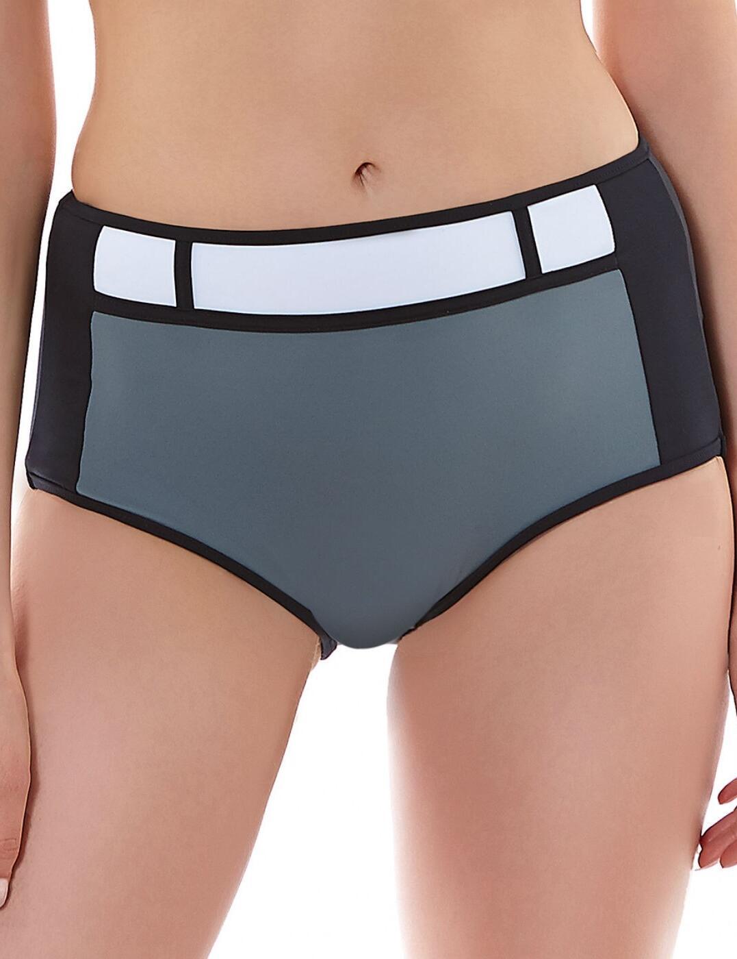 3967 Freya Bondi High Waisted Bikini Brief Black - 3967 High Waist Brief