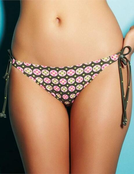 3227 Freya Fontana Rio Tie Bikini Brief - 3227 Avocado