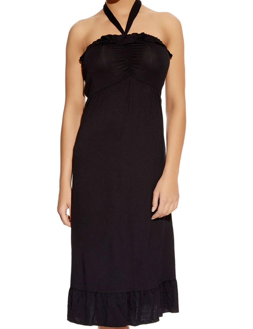 3479 Freya Paradise Jersey Beach Dress - 3479 Black