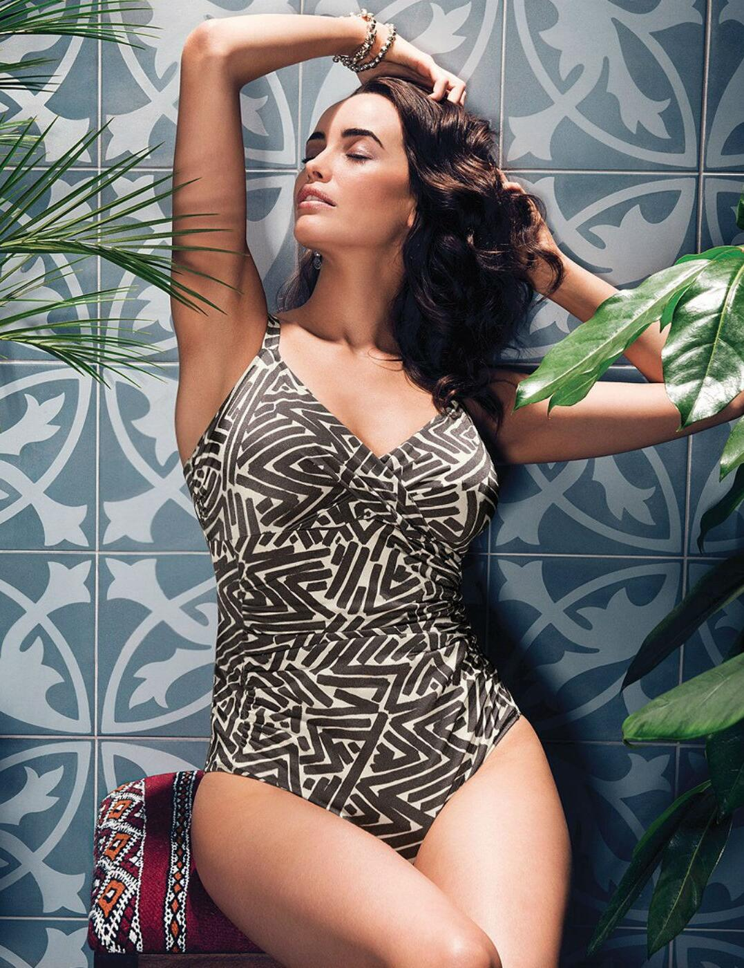 a9128aa484 Fantasie San Marino UW Wrap Front Swimsuit - Belle Lingerie