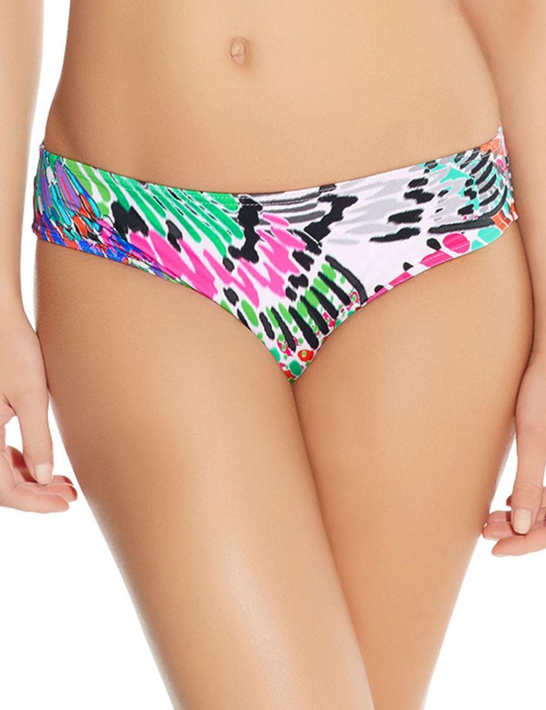 3783 Freya Mardi Gras Hipster Bikini Brief - 3783 Carnival Print