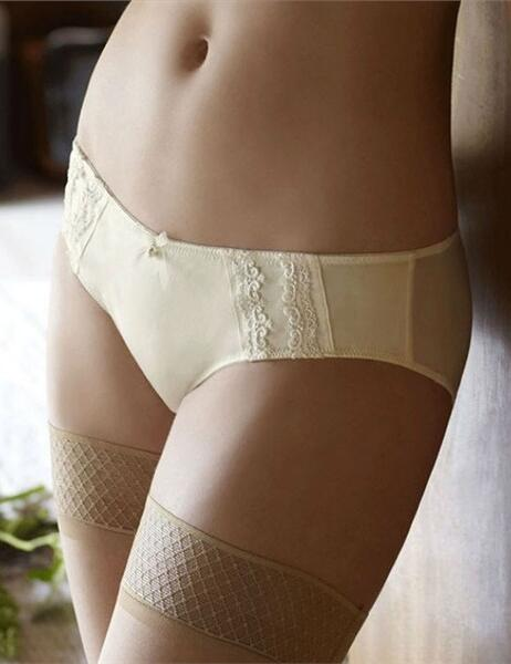 Panache 4544 Hestia Brief  in Ivory from the Masquerade range VARIOUS