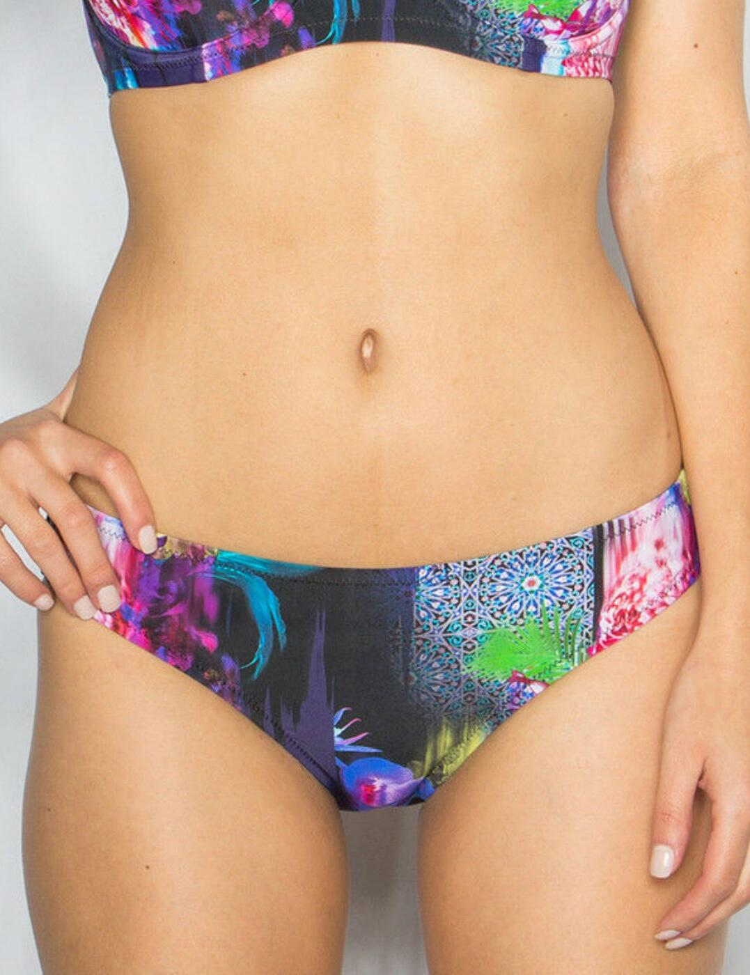 16004 Pour Moi Tiger Lily Low Rise Bikini Brief - 16004 Multi