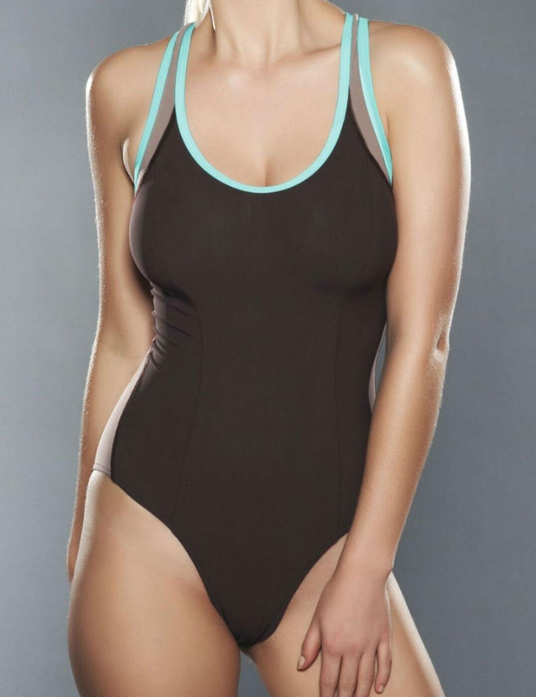 3182 Freya Active Soft Cup Swimsuit - 3182 Mocha