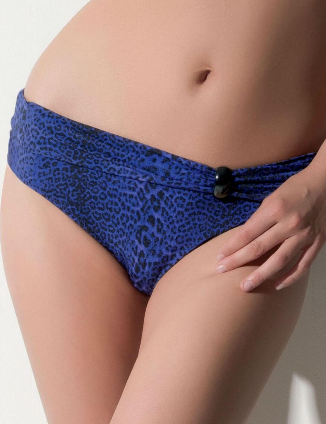 5586 Fantasie L A Fold Bikini Brief Blue - 5586 Fold Brief