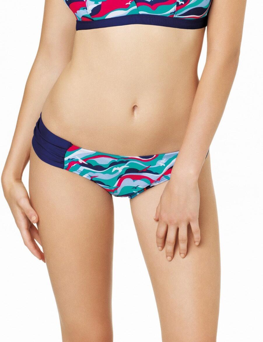 CW0016 Cleo Tilly Gather Bikini Brief - CW0016 Gather Pant
