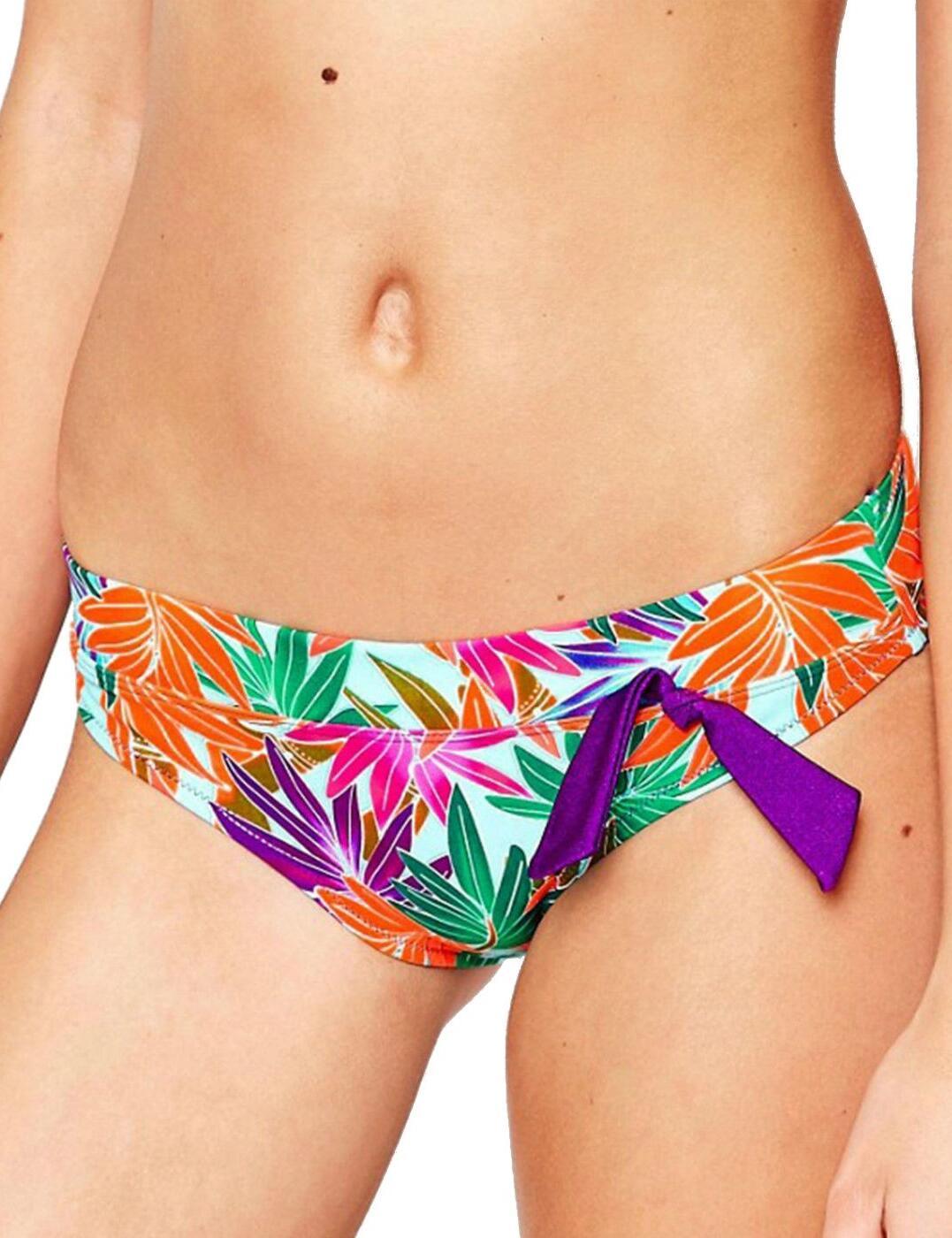 2803 Pour Moi? Bamboo High Waist Bikini Brief - 2803 Bamboo Print