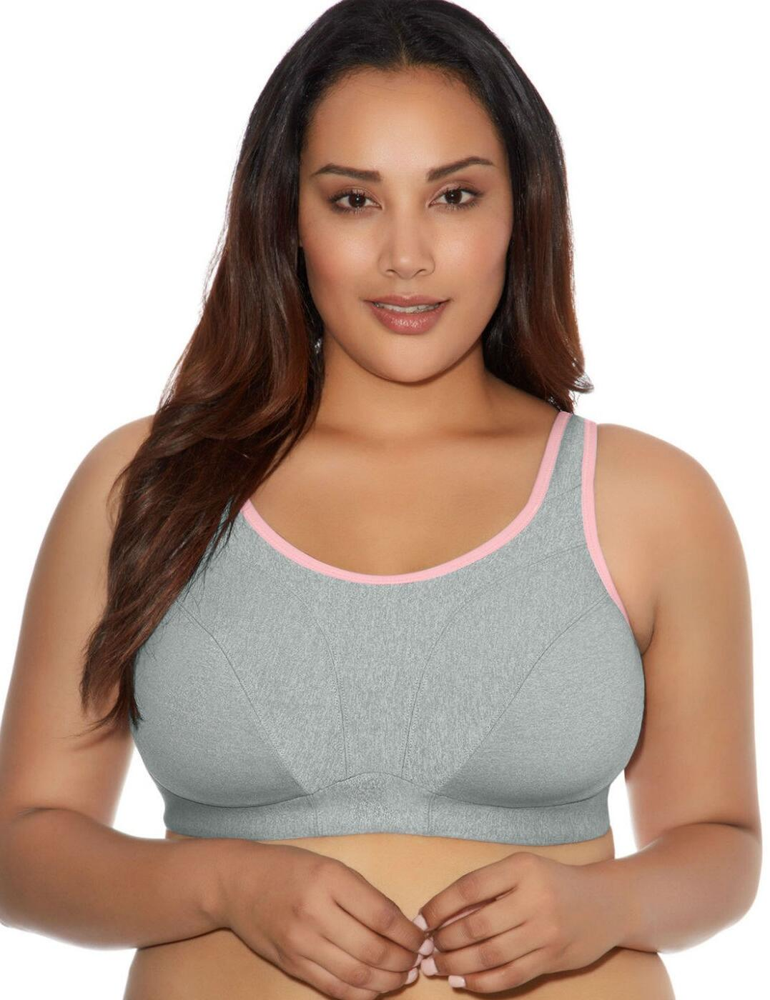 6911 Goddess Sport Soft Cup Sports Bra - 6911 Grey Heather