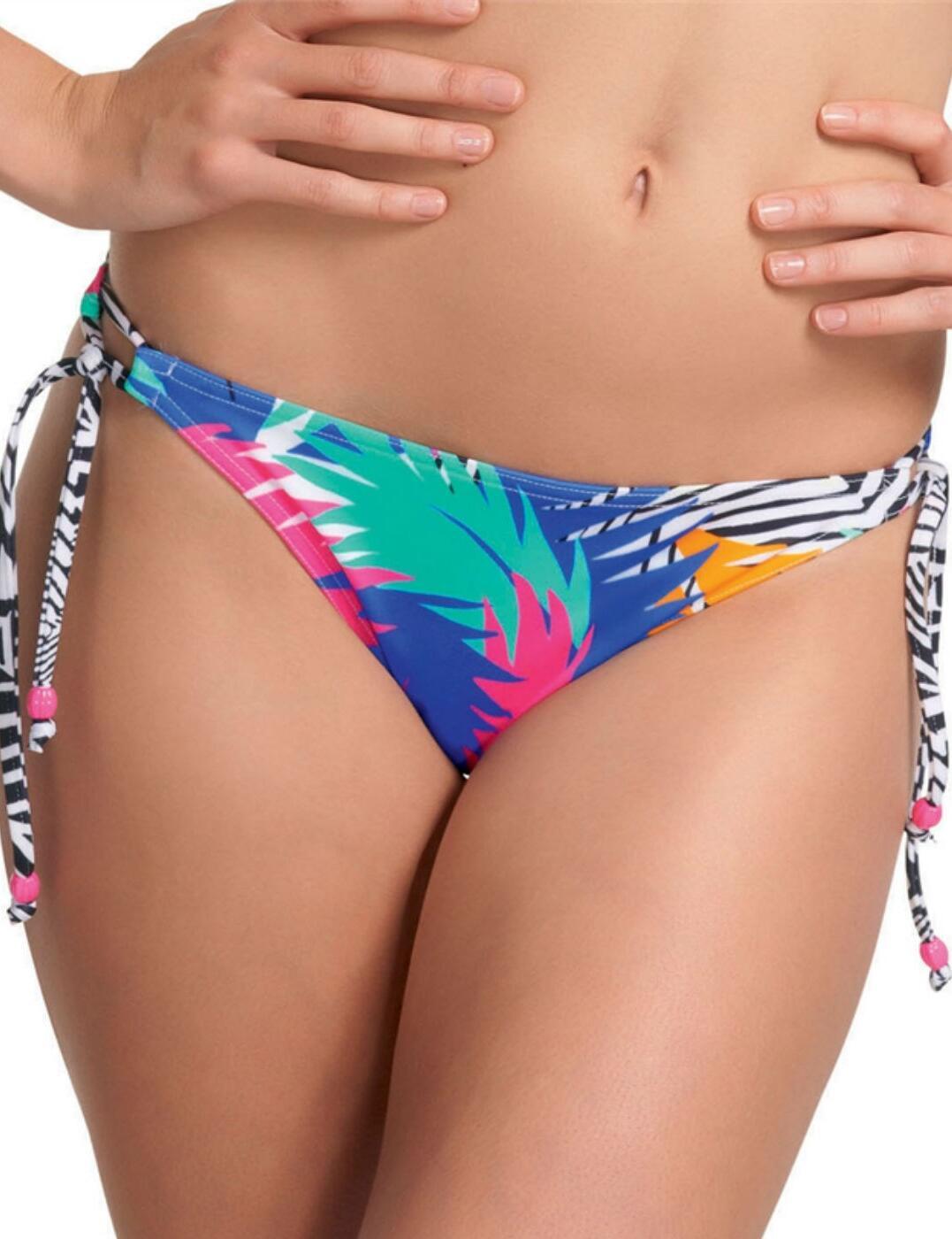 3524 Freya Flashdance Rio Tie Bikini Brief - 3524 Kaleidoscope
