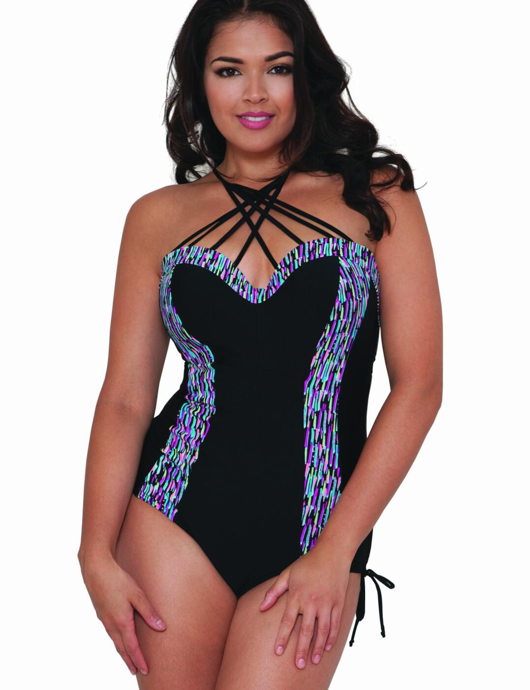 CS3757 Curvy Kate Galaxy Underwired Swimsuit - CS3757 Swimsuit