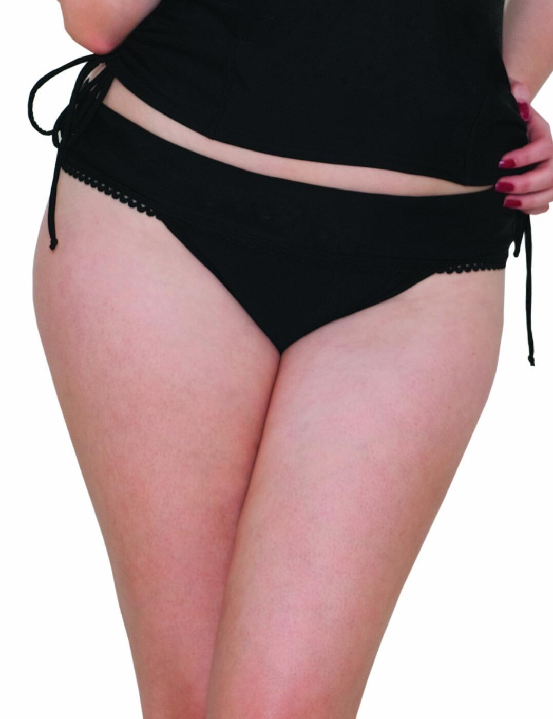 CS3525 Curvy Kate Jetty Fold Over Bikini Brief  - CS3525 Black