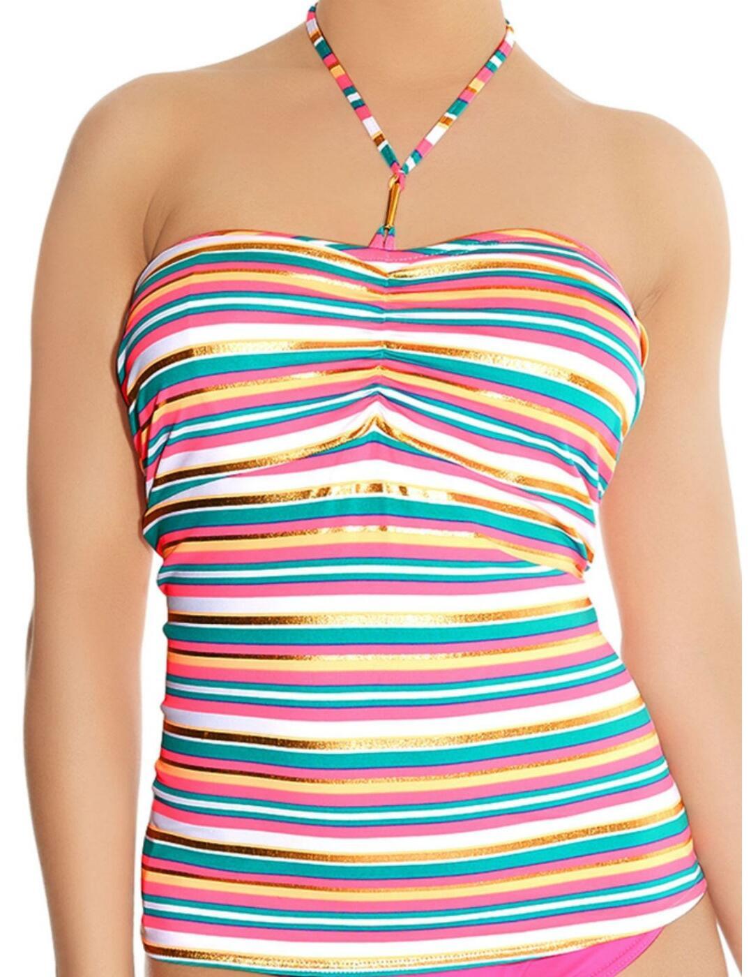 3419 Freya Beach Candy Padded Tankini Top - 3419 Tankini Top