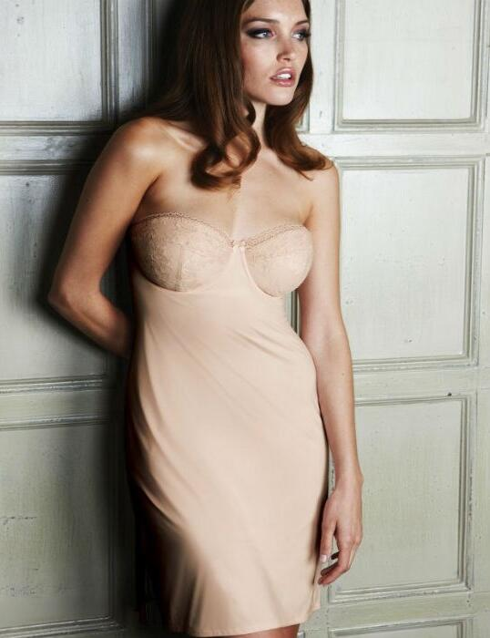 SU0160 Charnos Superfit Multiway Slip Dress SALE - SU0160 blush