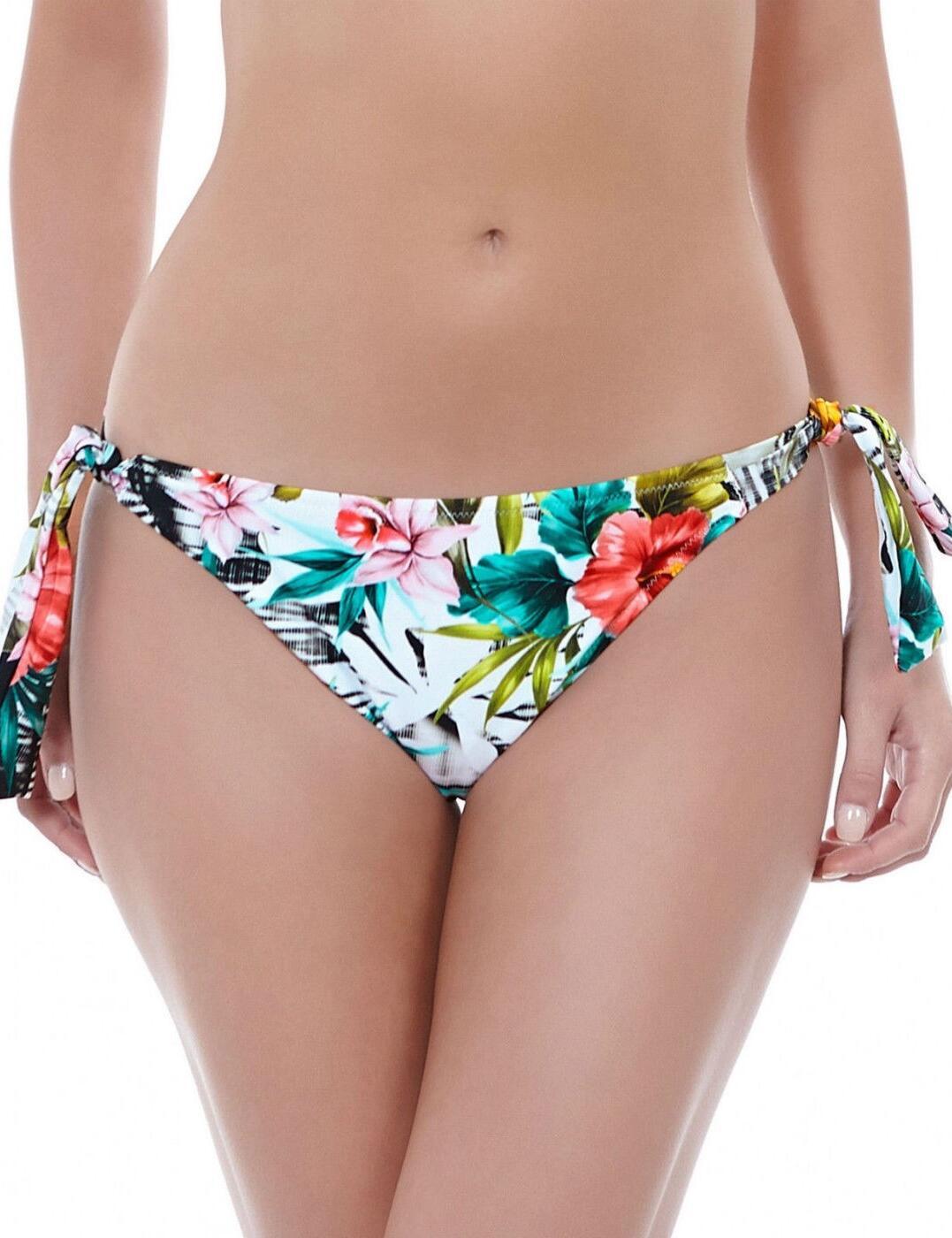 6168 Fantasie Wakaya Scarf Tie Bikini Brief Multi - 6168 Tie-Side Brief