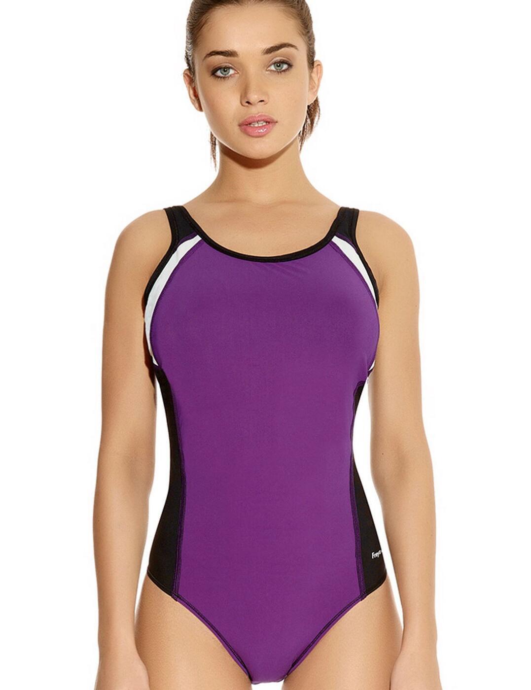 3991 Freya Active Swim Moulded Swimsuit - 3991  Purple Rain