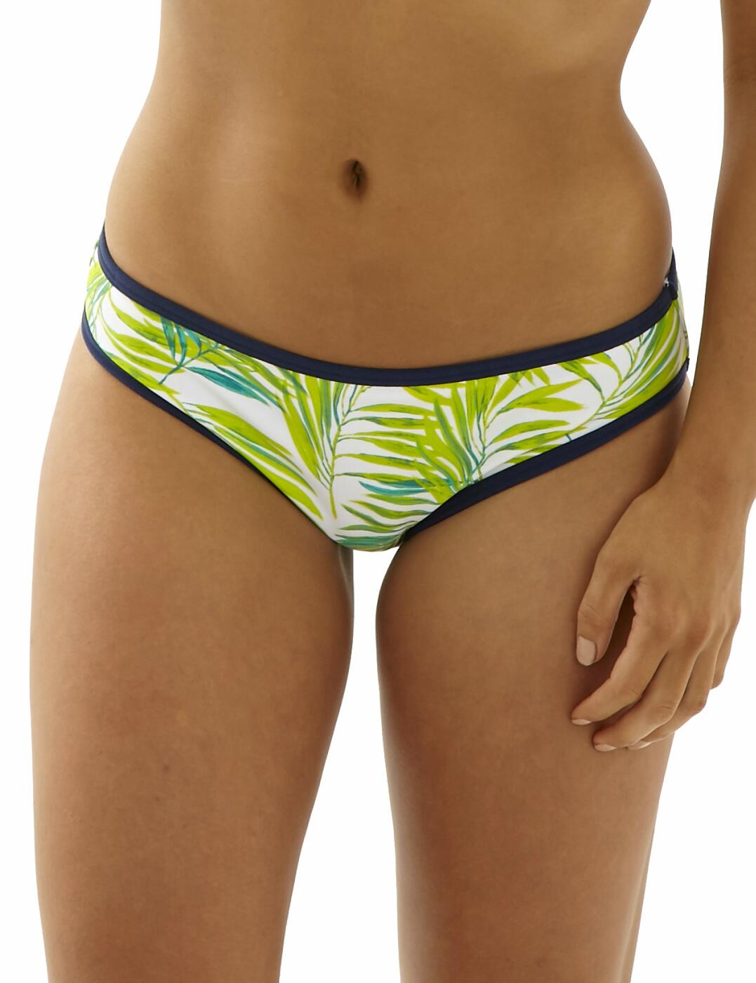 CW0229 Cleo Avril Classic Bikini Brief - CW0229 Palm Print
