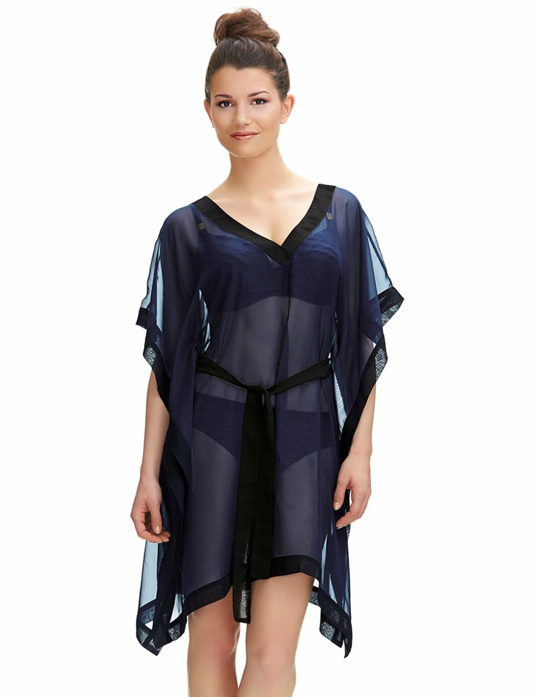 6298 Fantasie Sarasota Kaftan Beach Dress Nightshade - 6298 Kaftan
