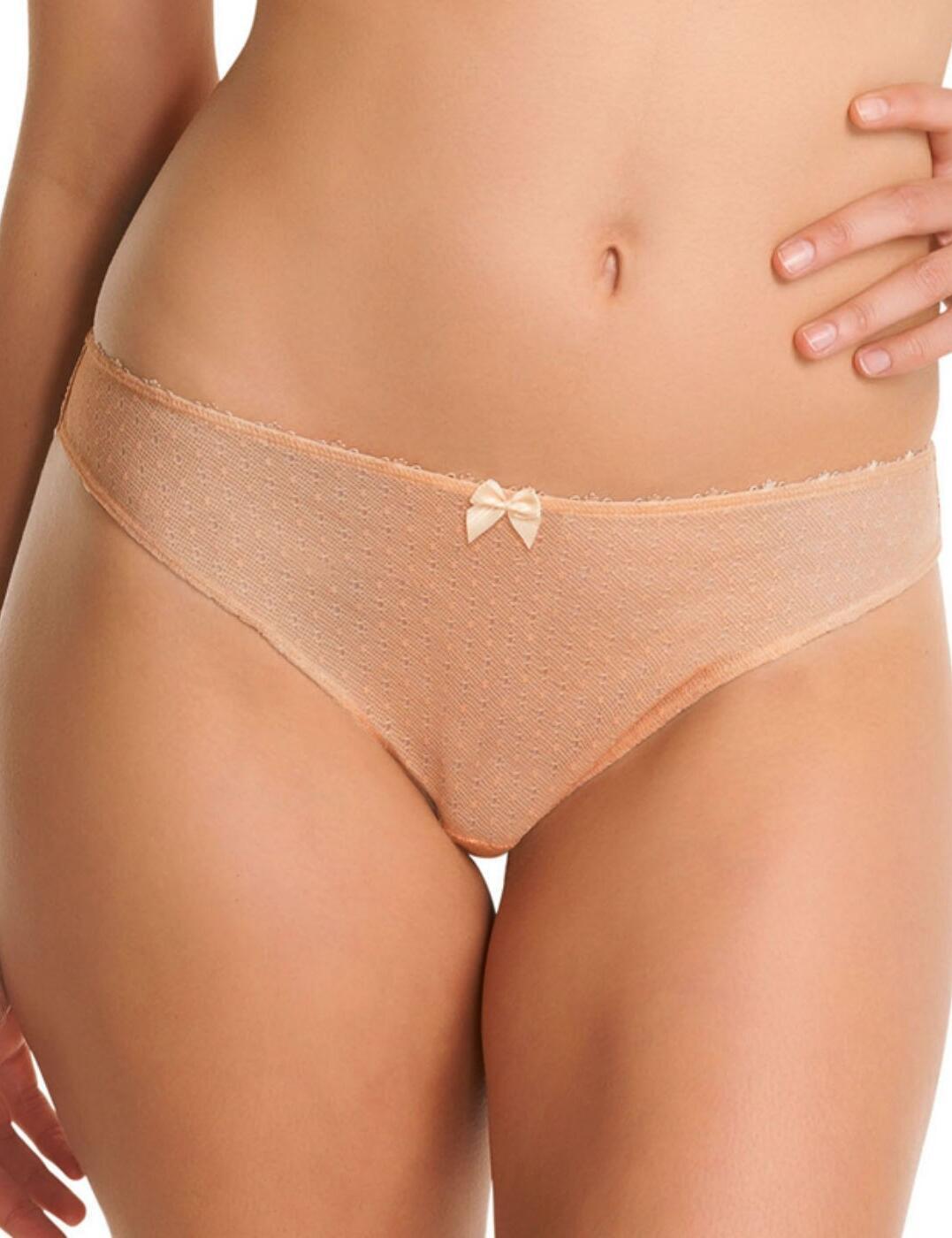 1367 Freya Gem Brazilian Thong FREE UK POST - 1367 Nude