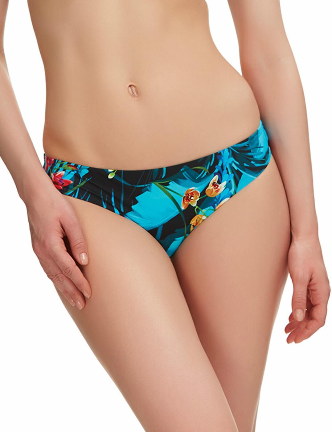 6108 Fantasie Seychelles Low Rise Bikini Brief Azure - 6108 Low Rise Brief