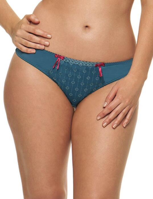 2302 Curvy Kate Dreamcatcher Thong Petrol - 2302 Thong