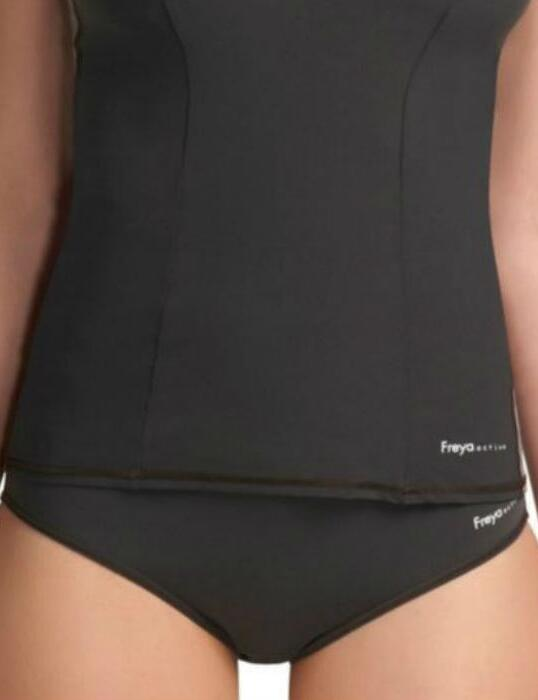 3185 Freya Active Swim Midi Bikini Briefs Mocha - 3185 Mocha