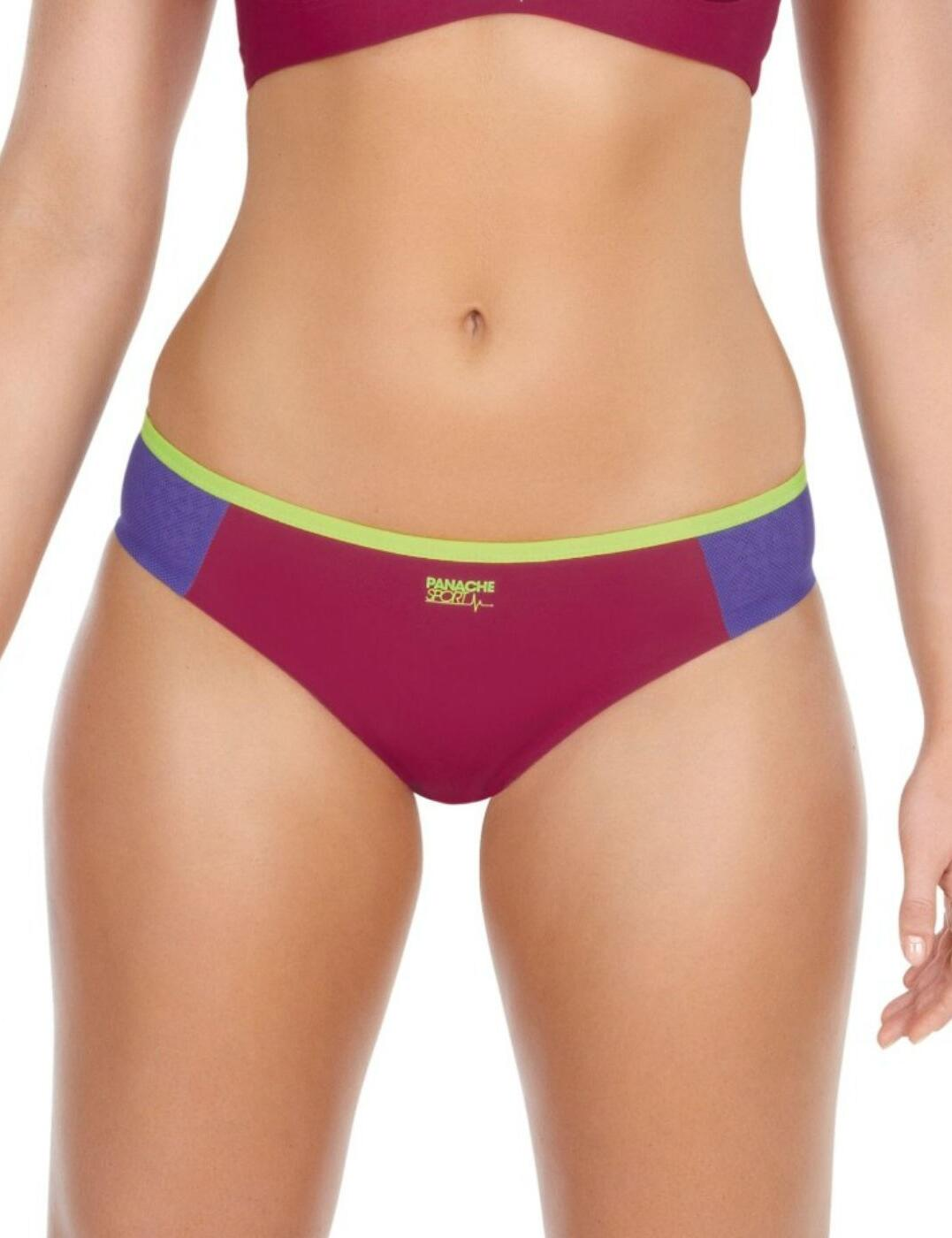 7342 Panache Sport brief  Raspberry FREE UK POST - 7342 Raspberry