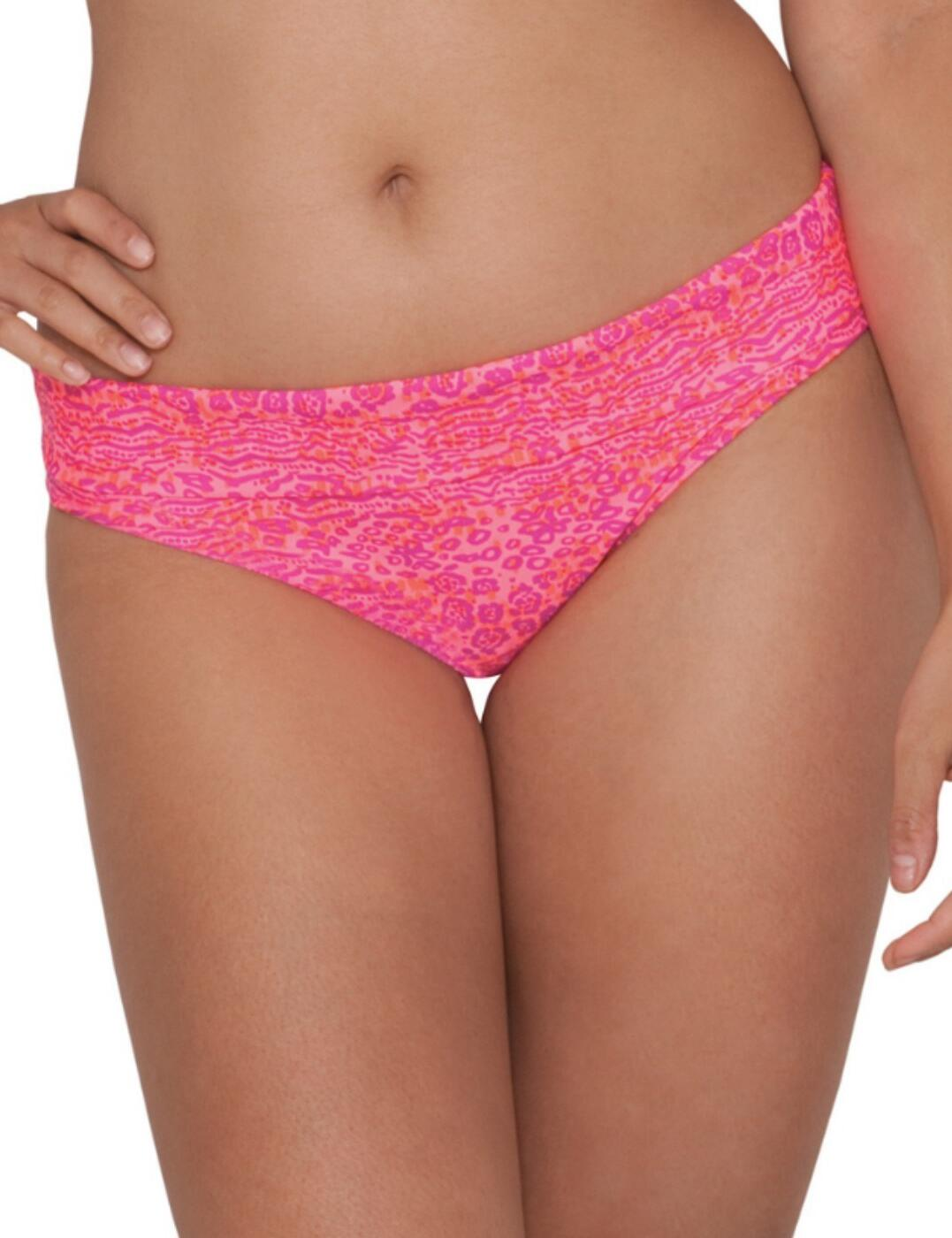 CS3925 Curvy Kate Daze Fold Over Bikini Brief Pink Mix - CS3925 Bikini Brief