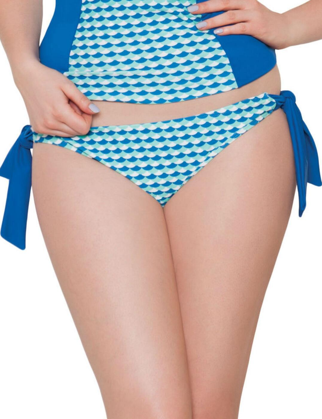 CS3115 Curvy Kate Atlantis Tie Bikini Brief - CS3115 Deep Sea