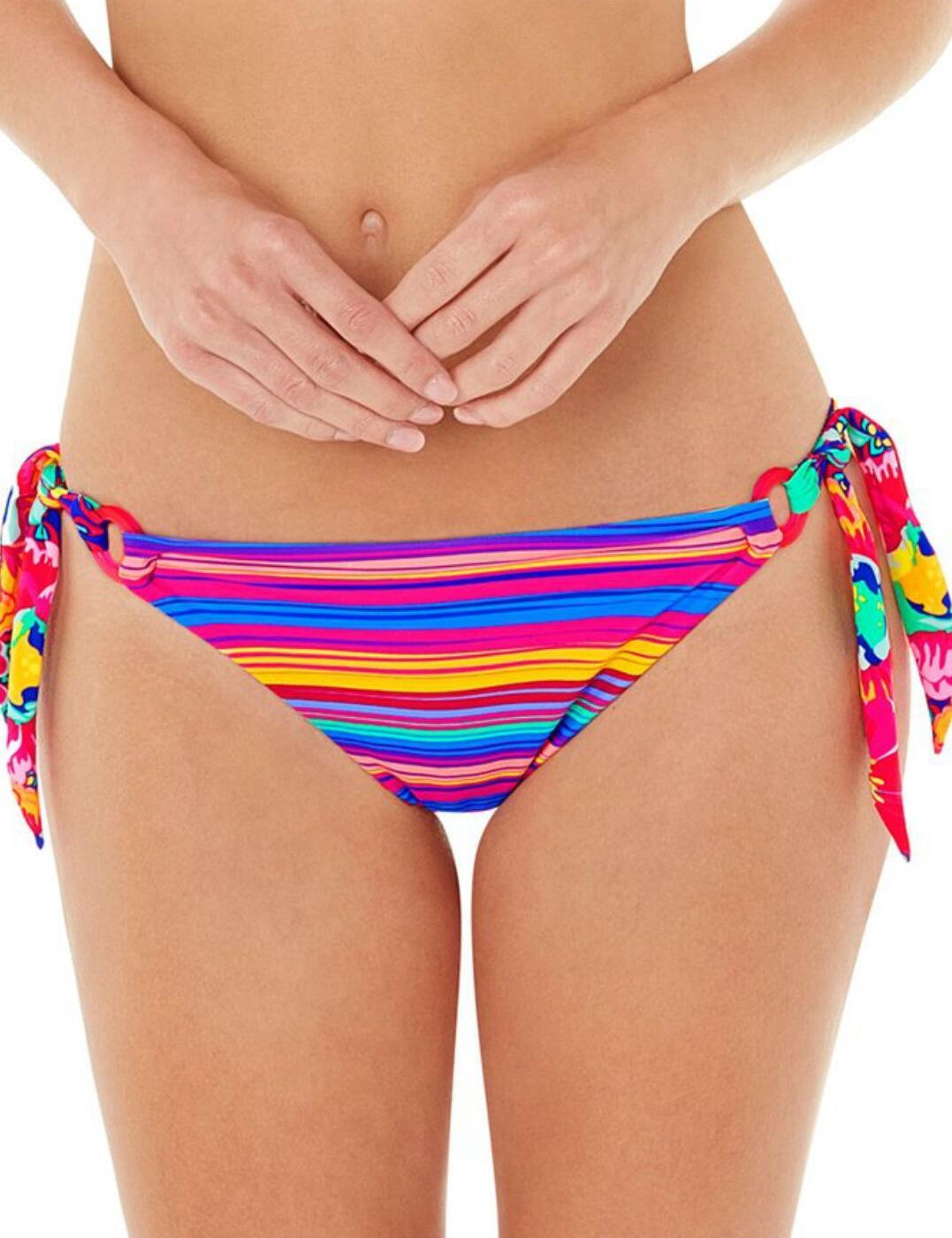 1571720 Lepel Sun Kiss Tie Side Bikini Pant Pink Multi - 1571720 Tie Bikini Brief