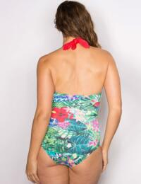 17006 Pour Moi? Jungle Fever Underwired Swimsuit Multi - 17006 Swimsuit