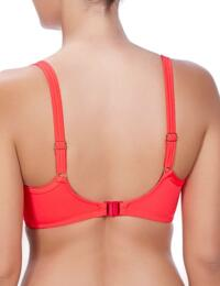 3284 Freya Deco Swim Moulded Bikini Top Insanely Red - 3284 Bikini Top